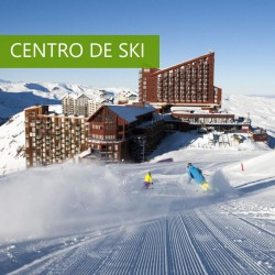 Transfers do Santiago ao hotel en Farellones ou Valle Nevado